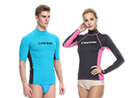 Rash guards for adults