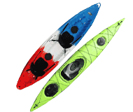 Solid kayaks