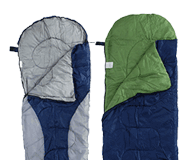 Sleeping bags and camping beds