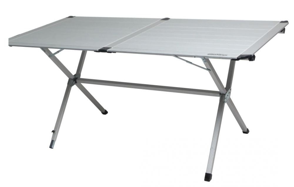 bravo folding camping table camp evo tblevoall