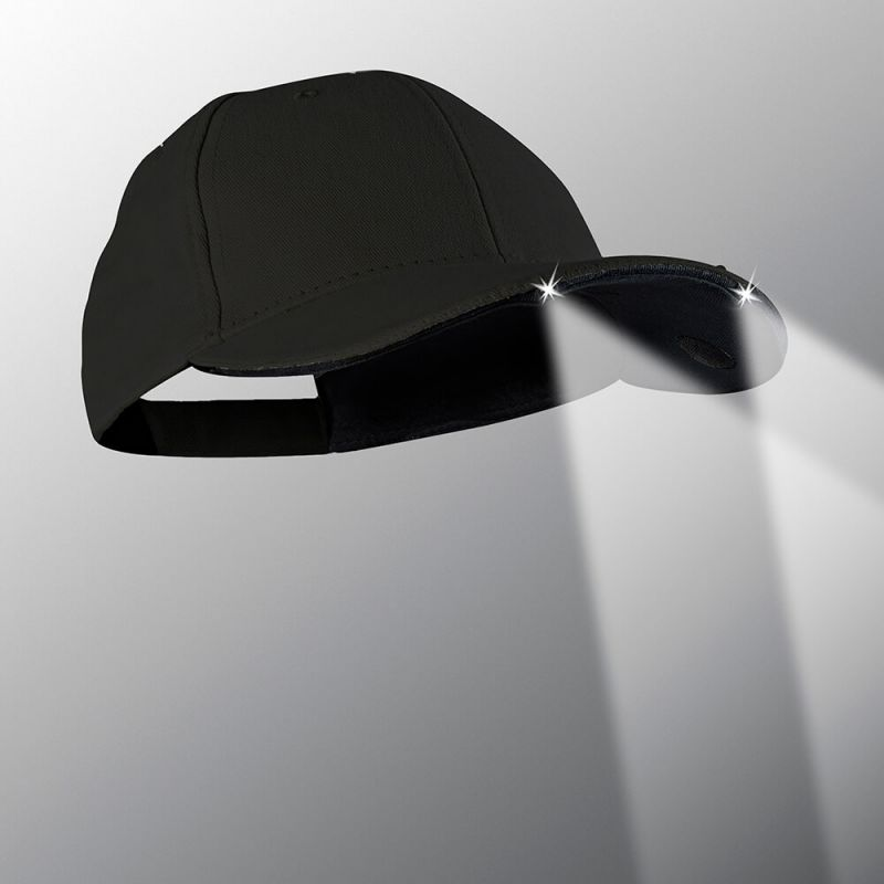 power vision powercap baseball cap 2 led stealth cap2led