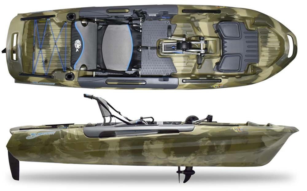 3waters fishing kayak big fish 108 pd
