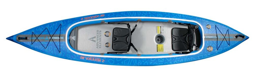 advanced elements inflatable kayak airvolution 2