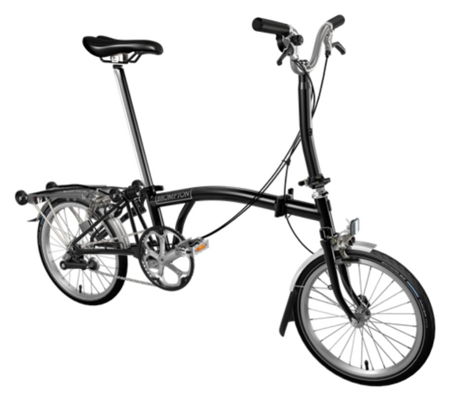 brompton bicycle folding m3r bpm3r