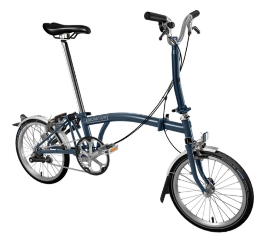 brompton bicycle folding m3l bpm3lall