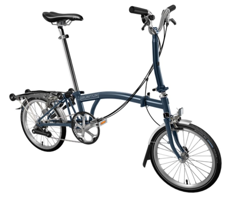 brompton bicycle folding m6r bpm6rall
