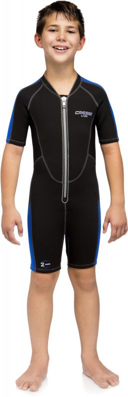 cressi lido shorty wetsuit for kids creshylido