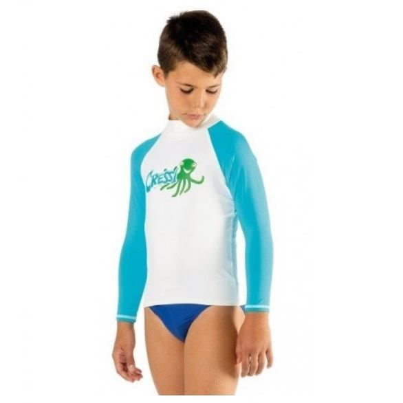 cressi rash guard for children long sleeve rashjl