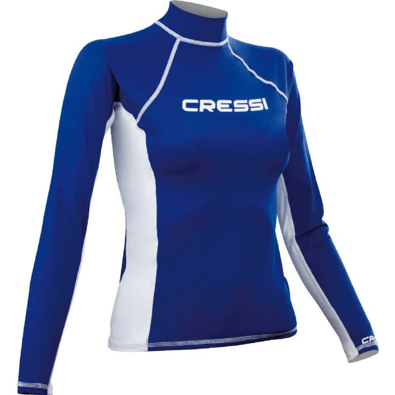 cressi rash guard for women long sleeve rashfl