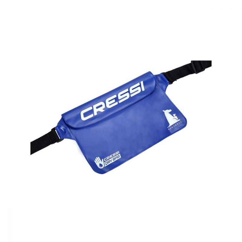 Dry pouch Cressi Kangaroo blue