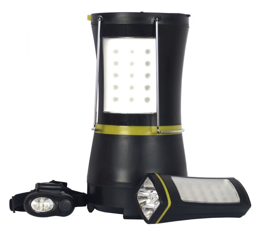 bravo camping light trio brlamptrio