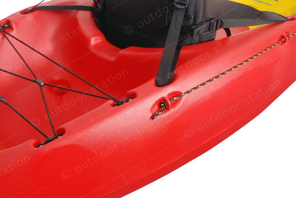 Feelfree sit on top Roamer 2 kayak with paddles and seats