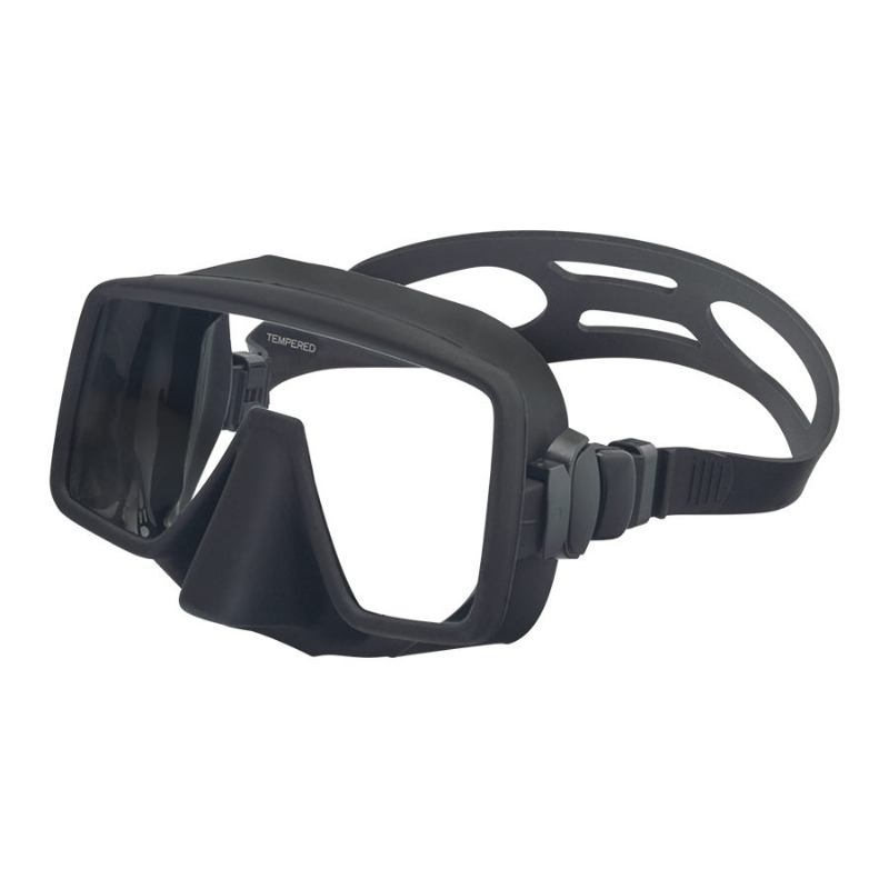 frameless diving mask obsidian mskobs