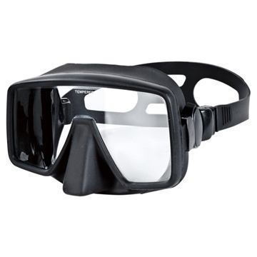 Frameless diving Mask Obsidian