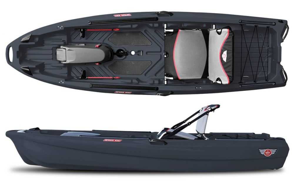 jonny boats bass 100 kayak for fishing