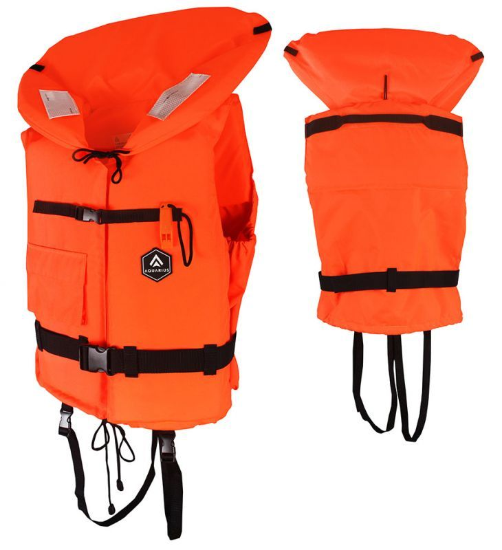 life jacket aquarius orange ljaq100n all