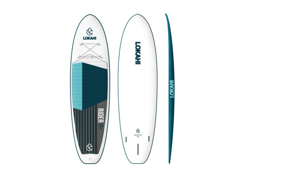 Lokahi SUP hard board 10'6 ACA Rider blue