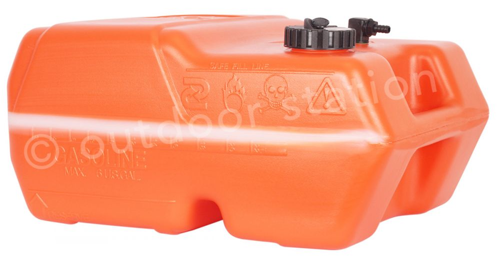 petrol and fuel tank canister pikappa 12 29l