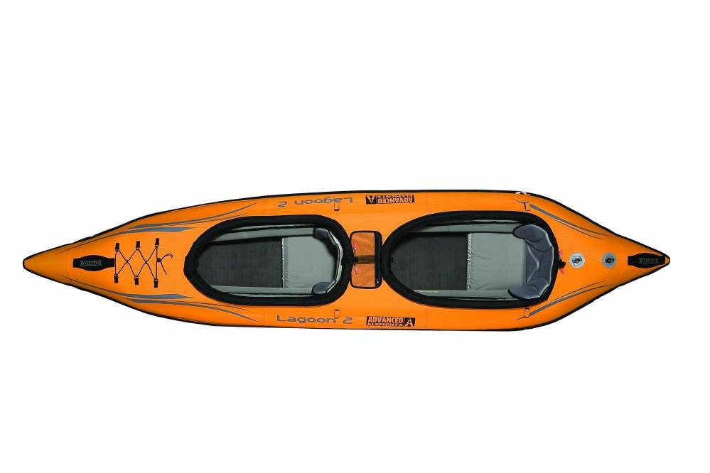 Recreational inflatable kayak Advanced Elements Lagoon2