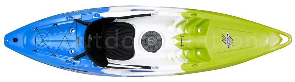 recreational single sit on top kayak feelfree nomad kjknmdall