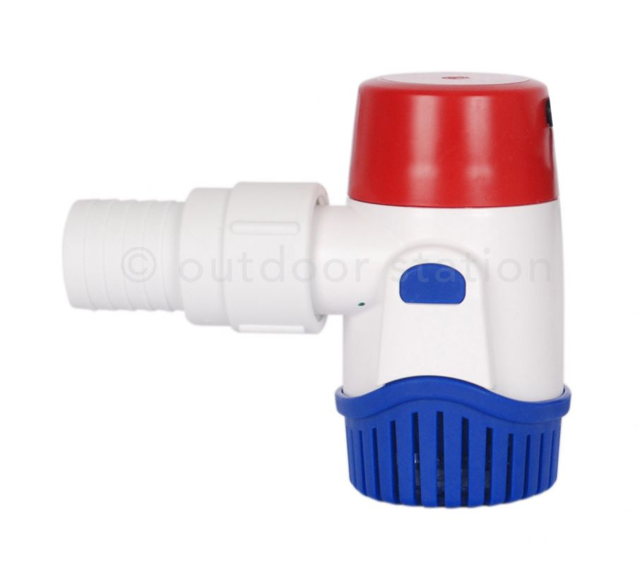 Rule 1100 GPH Non-Automatic Submersible Bilge Pump
