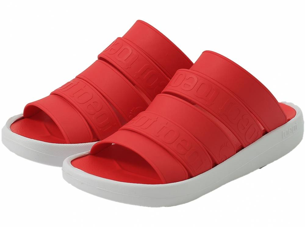 sandals toeot red toeredall