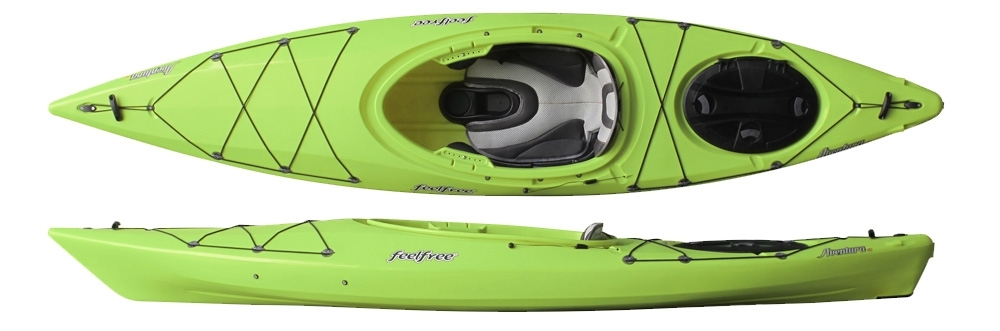 sit in touring kayak feelfree aventura 110 kjkavn110all