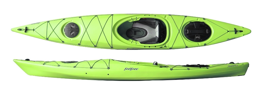 sit in touring kayak feelfree aventura 140 kjkave14all