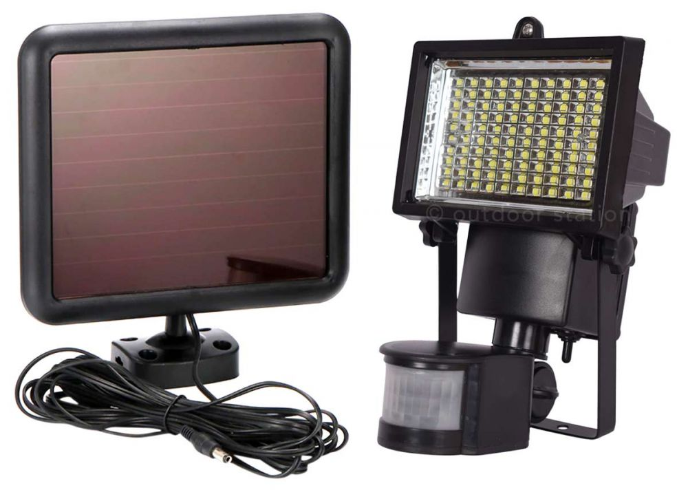 solar led light with motion sensor SOLR100LED