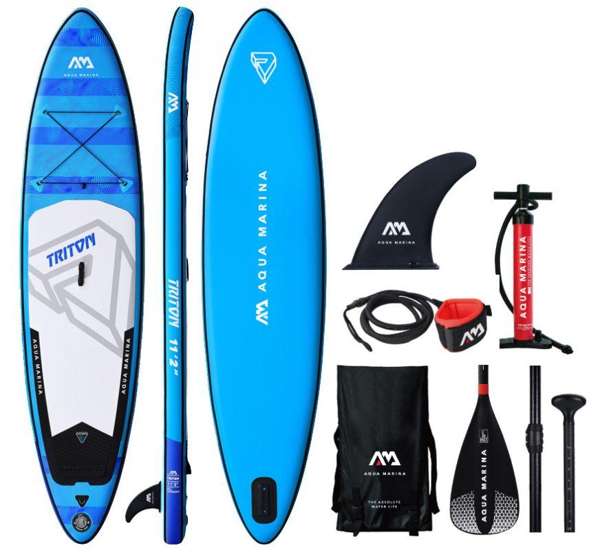 Sup Board Aqua Marina Triton With A Paddle