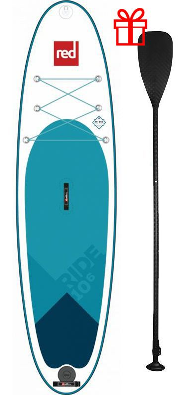 sup board red paddle co 10 6 ride carbon paddle suprpride106p
