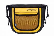 Waterproof shoulder crossbody bag Feelfree Jazz 2L Yellow