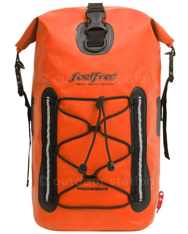 waterproof backpack bag feelfree go pack 20l gp20all