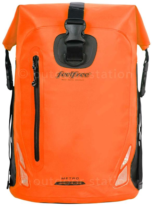 waterproof motorcycle backpack feelfree metro 25l mtr25all