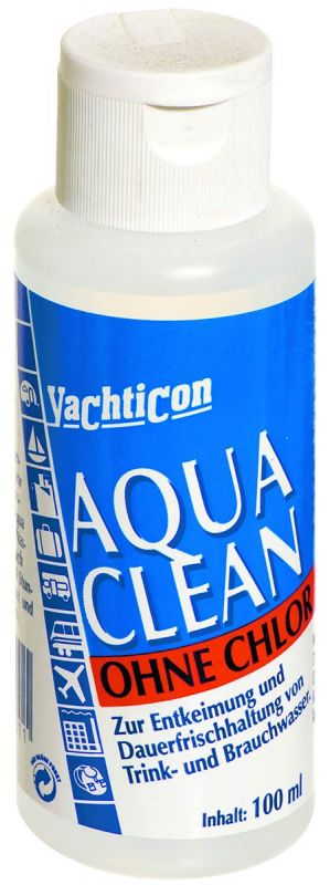 yachticon aqua clean drinking water preservative 100ml