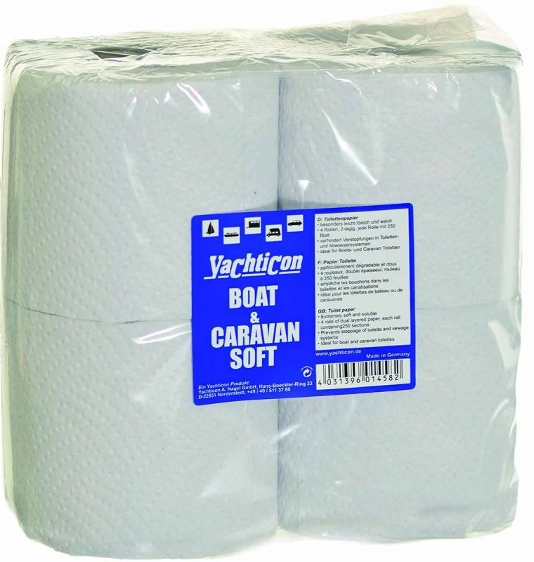 yachticon boat and caravan soft toilet paper
