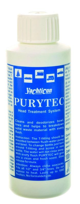 yachticon toilet cleaner purytec replacement cartridge 100ml