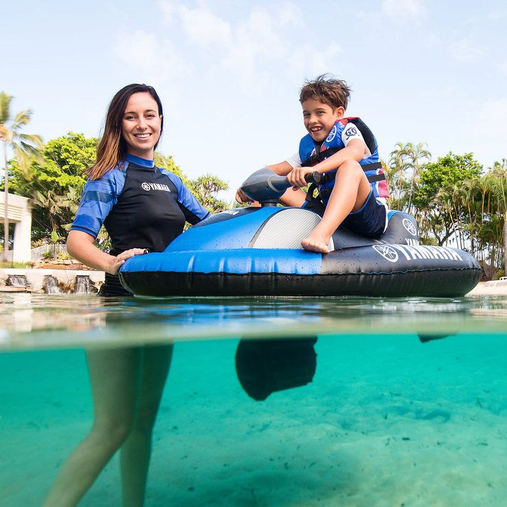 Yamaha inflatable scooter for kids Aqua Cruise