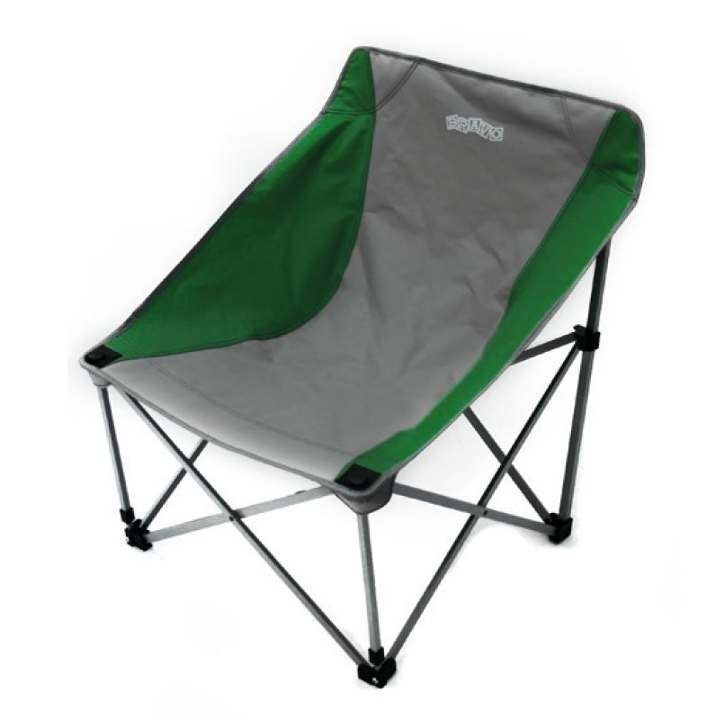 bravo folding camping chair light chrlght